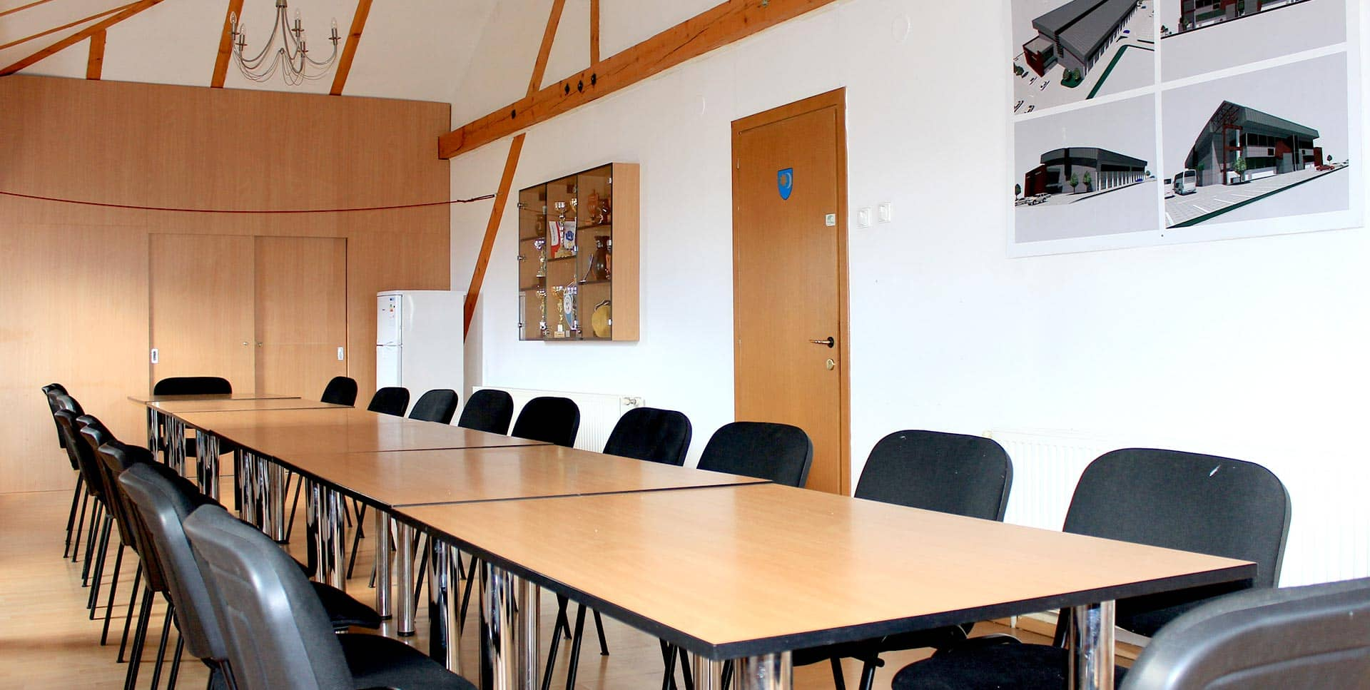 Conference Room for Teams in Hostel Sport